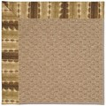 Capel Rugs Creative Concepts Raffia - Java Journey Chestnut (750) Octagon 4
