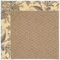 Capel Rugs Creative Concepts Raffia - Cayo Vista Graphic (315) Octagon 6