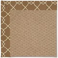 Capel Rugs Creative Concepts Raffia - Arden Chocolate (746) Octagon 8