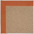 Capel Rugs Creative Concepts Raffia - Canvas Rust (837) Octagon 8