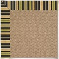 Capel Rugs Creative Concepts Raffia - Vera Cruz Coal (350) Octagon 10