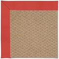 Capel Rugs Creative Concepts Raffia - Canvas Paprika (517) Octagon 10