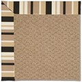 Capel Rugs Creative Concepts Raffia - Granite Stripe (335) Runner 2