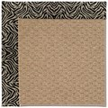 Capel Rugs Creative Concepts Raffia - Wild Thing Onyx (396) Runner 2
