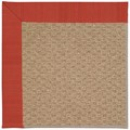 Capel Rugs Creative Concepts Raffia - Vierra Cherry (560) Rectangle 3