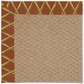 Capel Rugs Creative Concepts Raffia - Bamboo Cinnamon (856) Rectangle 3