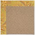 Capel Rugs Creative Concepts Raffia - Cayo Vista Tea Leaf (210) Rectangle 4