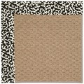 Capel Rugs Creative Concepts Raffia - Coral Cascade Ebony (385) Rectangle 4