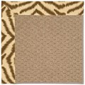 Capel Rugs Creative Concepts Raffia - Couture King Chestnut (756) Rectangle 4
