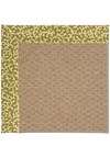 Capel Rugs Creative Concepts Raffia - Coral Cascade Avocado (225) Rectangle 4' x 6' Area Rug