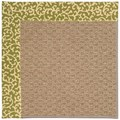 Capel Rugs Creative Concepts Raffia - Coral Cascade Avocado (225) Rectangle 5
