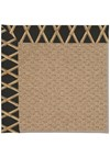Capel Rugs Creative Concepts Raffia - Bamboo Coal (356) Rectangle 5' x 8' Area Rug