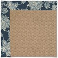 Capel Rugs Creative Concepts Raffia - Bandana Indigo (465) Rectangle 6