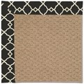 Capel Rugs Creative Concepts Raffia - Arden Black (346) Rectangle 7