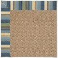 Capel Rugs Creative Concepts Raffia - Kalani Ocean (417) Rectangle 7