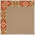 Capel Rugs Creative Concepts Raffia - Shoreham Brick (800) Rectangle 7
