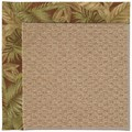 Capel Rugs Creative Concepts Raffia - Bahamian Breeze Cinnamon (875) Rectangle 7