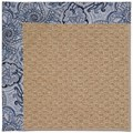 Capel Rugs Creative Concepts Raffia - Paddock Shawl Indigo (475) Rectangle 8