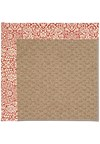 Capel Rugs Creative Concepts Raffia - Imogen Cherry (520) Rectangle 8' x 10' Area Rug
