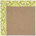 Capel Rugs Creative Concepts Raffia - Shoreham Kiwi (220) Rectangle 12