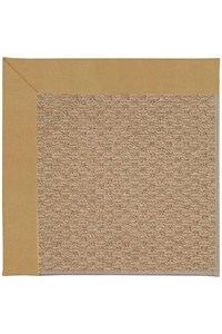 Capel Rugs Creative Concepts Raffia - Canvas Brass (180) Rectangle 12' x 15' Area Rug