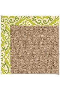 Capel Rugs Creative Concepts Raffia - Shoreham Kiwi (220) Rectangle 12' x 15' Area Rug