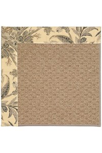 Capel Rugs Creative Concepts Raffia - Cayo Vista Graphic (315) Rectangle 12' x 15' Area Rug