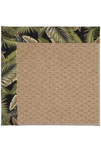 Capel Rugs Creative Concepts Raffia - Bahamian Breeze Coal (325) Rectangle 12' x 15' Area Rug