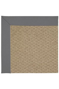 Capel Rugs Creative Concepts Raffia - Canvas Charcoal (355) Rectangle 12' x 15' Area Rug