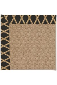 Capel Rugs Creative Concepts Raffia - Bamboo Coal (356) Rectangle 12' x 15' Area Rug