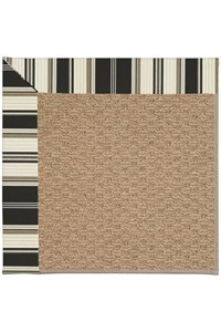 Capel Rugs Creative Concepts Raffia - Down The Lane Ebony (370) Rectangle 12' x 15' Area Rug