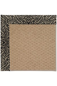 Capel Rugs Creative Concepts Raffia - Wild Thing Onyx (396) Rectangle 12' x 15' Area Rug