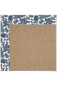 Capel Rugs Creative Concepts Raffia - Batik Indigo (415) Rectangle 12' x 15' Area Rug