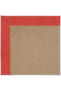 Capel Rugs Creative Concepts Raffia - Canvas Paprika (517) Rectangle 12' x 15' Area Rug