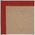 Capel Rugs Creative Concepts Raffia - Canvas Cherry (537) Rectangle 12