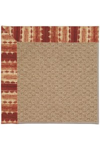 Capel Rugs Creative Concepts Raffia - Java Journey Henna (580) Rectangle 12' x 15' Area Rug