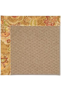 Capel Rugs Creative Concepts Raffia - Tuscan Vine Adobe (830) Rectangle 12' x 15' Area Rug