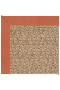 Capel Rugs Creative Concepts Raffia - Canvas Persimmon (847) Rectangle 12' x 15' Area Rug