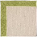 Capel Rugs Creative Concepts White Wicker - Tampico Palm (226) Octagon 4