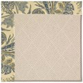 Capel Rugs Creative Concepts White Wicker - Cayo Vista Ocean (425) Octagon 4
