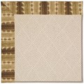 Capel Rugs Creative Concepts White Wicker - Java Journey Chestnut (750) Octagon 4