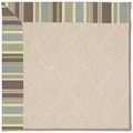 Capel Rugs Creative Concepts White Wicker - Brannon Whisper (422) Octagon 6
