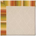 Capel Rugs Creative Concepts White Wicker - Kalani Samba (224) Octagon 8