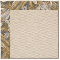 Capel Rugs Creative Concepts White Wicker - Bahamian Breeze Ocean (420) Octagon 8