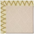 Capel Rugs Creative Concepts White Wicker - Bamboo Rattan (706) Octagon 8