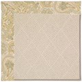 Capel Rugs Creative Concepts White Wicker - Paddock Shawl Mineral (310) Octagon 10