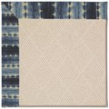 Capel Rugs Creative Concepts White Wicker - Java Journey Indigo (460) Octagon 10