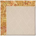 Capel Rugs Creative Concepts White Wicker - Tuscan Vine Adobe (830) Octagon 10