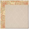 Capel Rugs Creative Concepts White Wicker - Paddock Shawl Persimmon (810) Runner 2