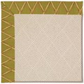 Capel Rugs Creative Concepts White Wicker - Bamboo Tea Leaf (236) Runner 2